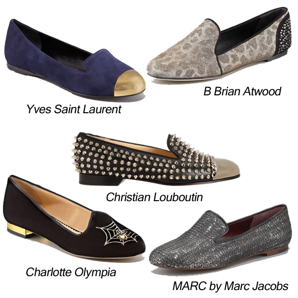 Yves Saint Laurent Christian Louboutin Charlotte Olympia