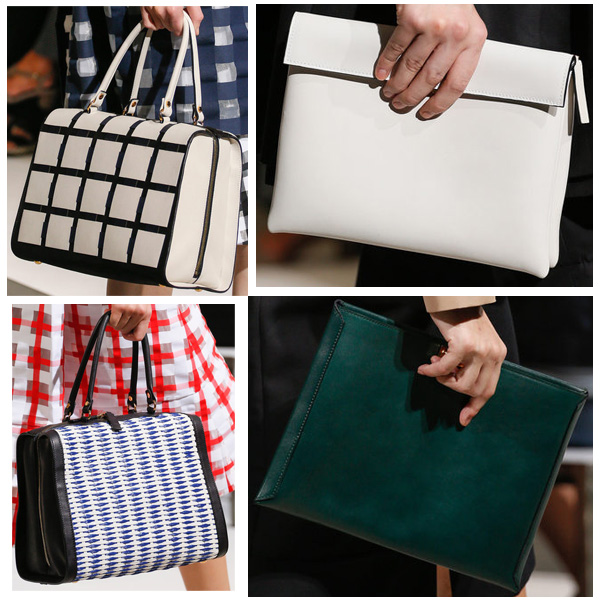 Marni shows bags from their Spring/Summer 2013 Collection fashion show in Milan