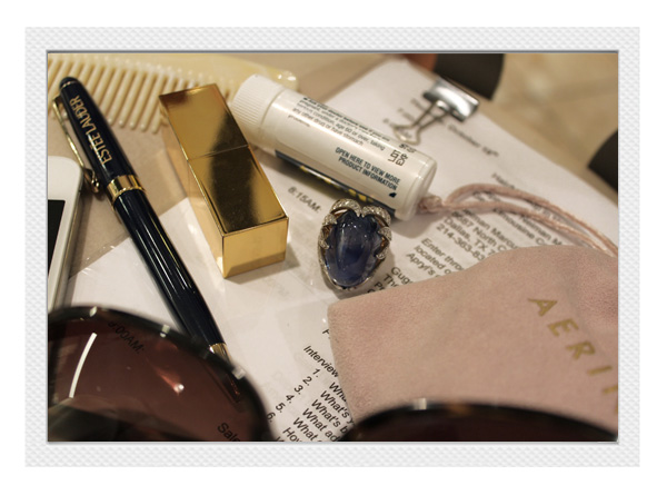 Inside Aerin Lauder's Bag