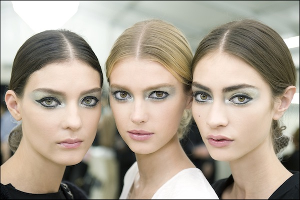 Beauty from Chanel's Spring/Summer 2013 Show