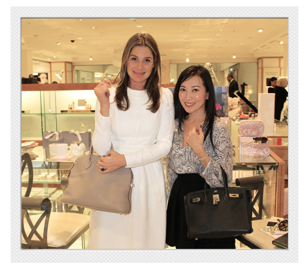 Aerin Lauder and Tina Craig at Neiman Marcus