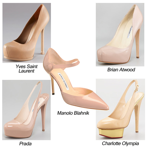 Yves Saint Laurent, Prada, Manolo Blahnik, Brian Atwood, Charlotte Olympia, Patent Leather Pumps