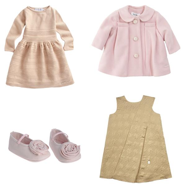 Baby Dior Dress, Coat, Shoes