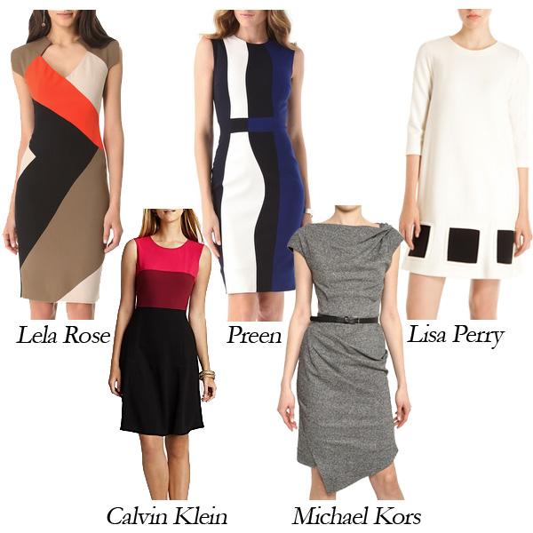 Calvin Klein, Lela Rose, Preen, Michael Kors, Lisa Perry Day to Evening Dresses