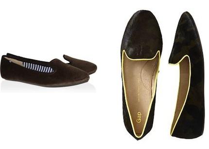 Charles Philip Shanghai Velvet Loafer