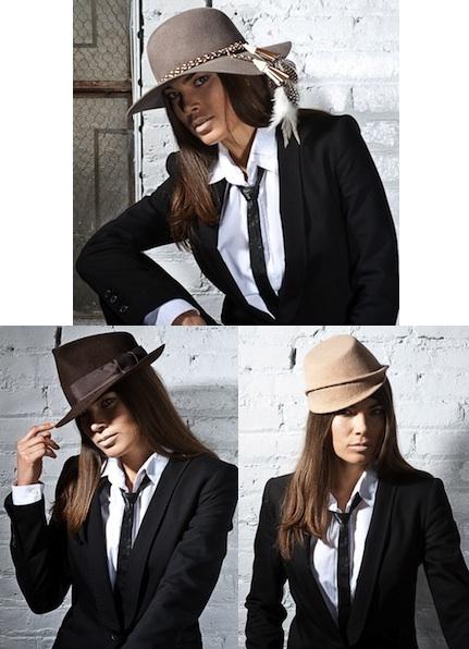 Kim Felt Velour Hat, Doc Felt Velour Hat, Phoebe Felt Velour Hat