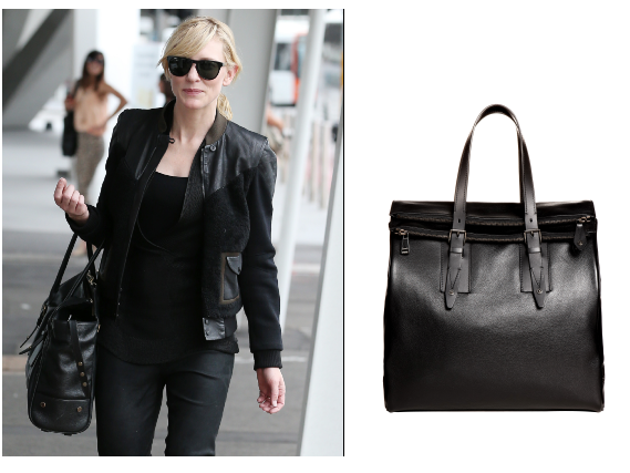 Belstaff Large Black Dorchester Tote