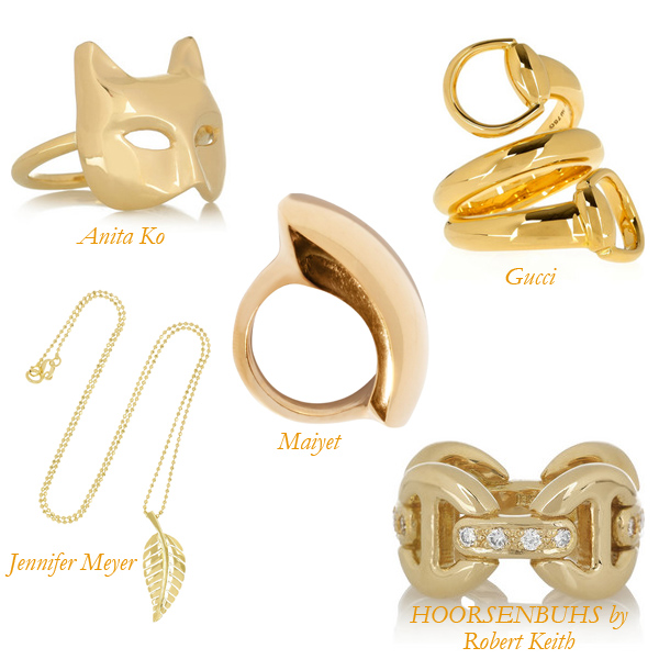 Anita Ko, Maiyet, Jennifer Meyer, Hoorsenbuhs, Gucci, Shiny Jewelry