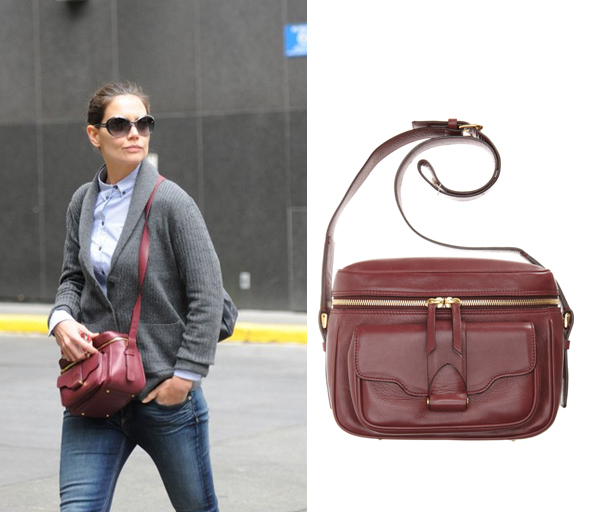 Katie Holmes carries Derek Lam Camera Bag