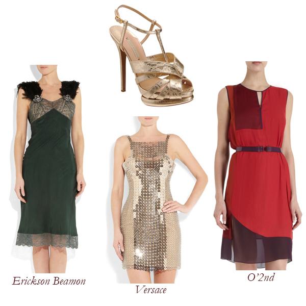 Nicholas Kirkwood Sandal, Erickson Beamon, Versace, O2nd Dress