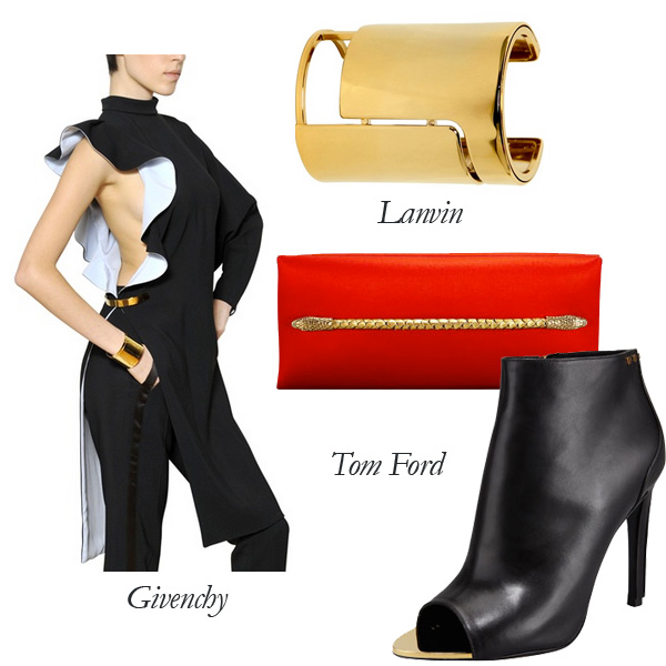 Givenchy, Tom Ford, Lanvin