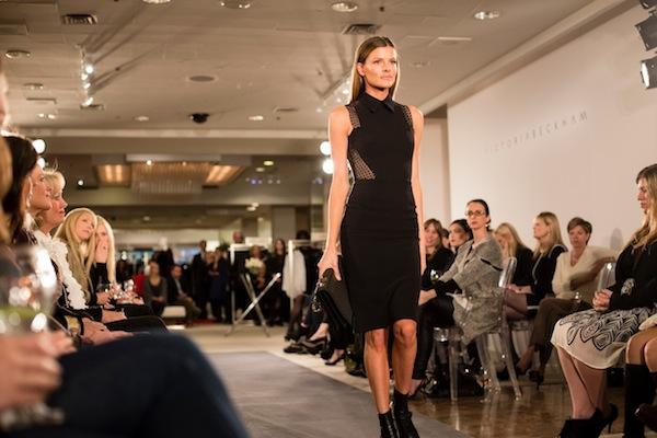 Victoria Beckham Fashion Line shown at Neiman Marcus