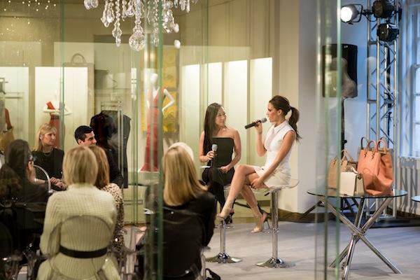 Bag Snob Tina interviewing Victoria Beckham