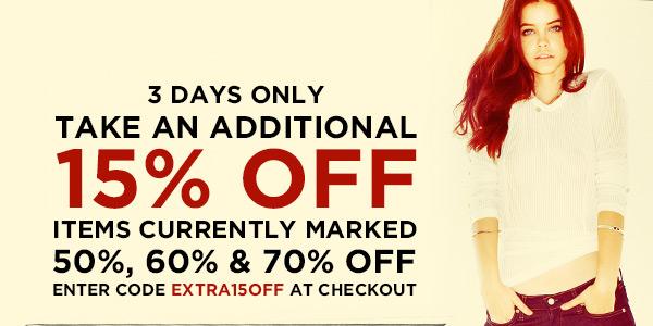 15% Off ShopBop Sale