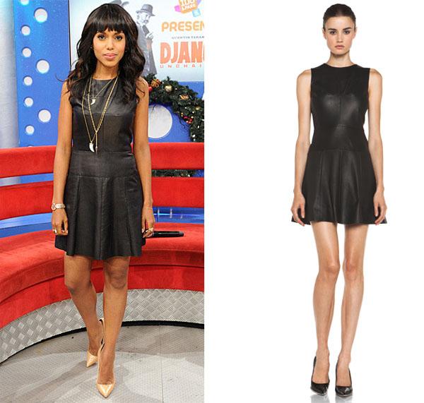 kerry_washington_ALC_Leather_dress