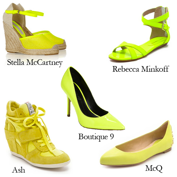 Top 5 Bright Yellow Shoes