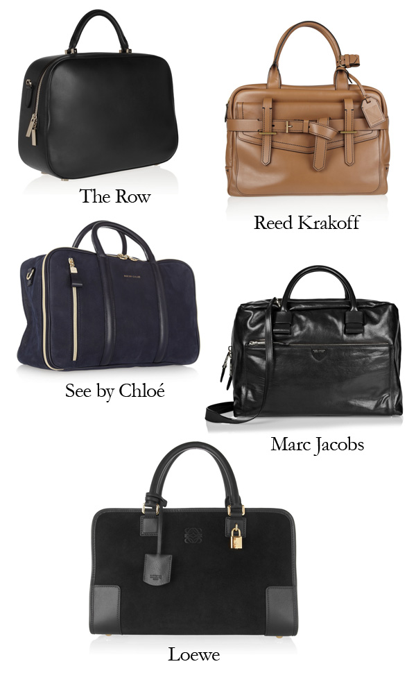 The Row, Marc Jacobs, Reed Krakoff, Loewe, See by Chloé leather tote