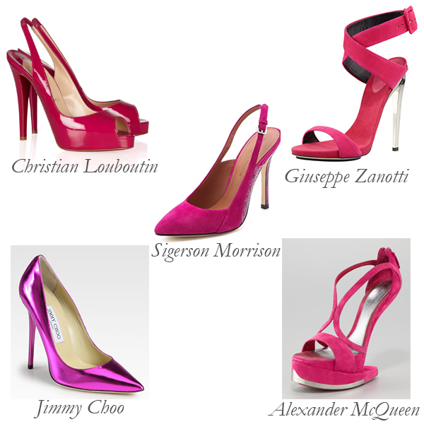 Top 5 Fuchsia Shoes