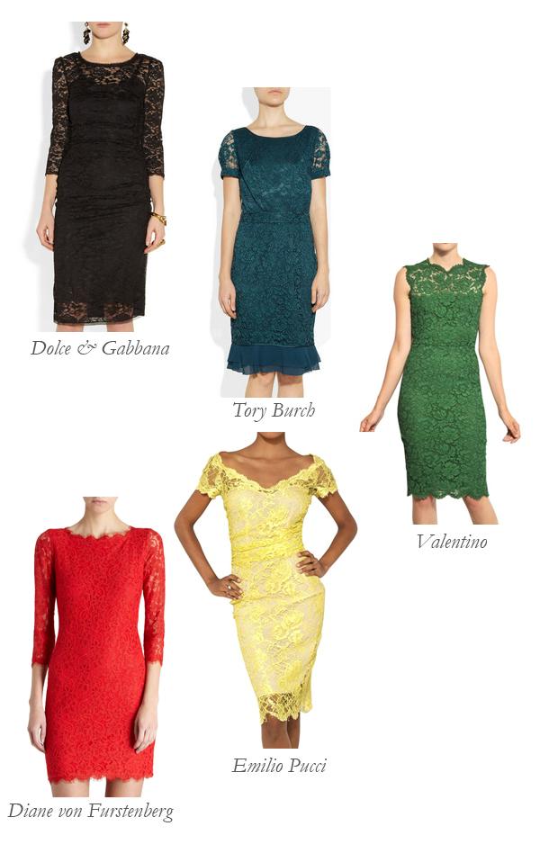 Best Lace Dresses: Lace Up