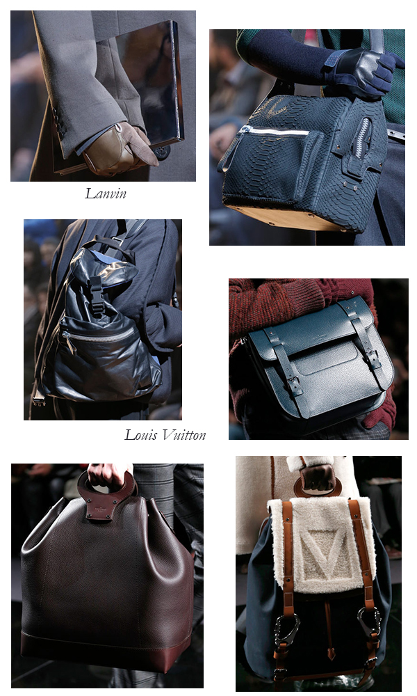 Men's Lanvin and Louis Vuitton for Fall/Winter 2013