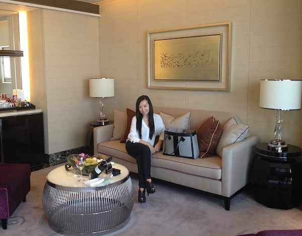 Bag Snob Tina at the St. Regis in Shenzhen with the Jason Wu Grand Tourista