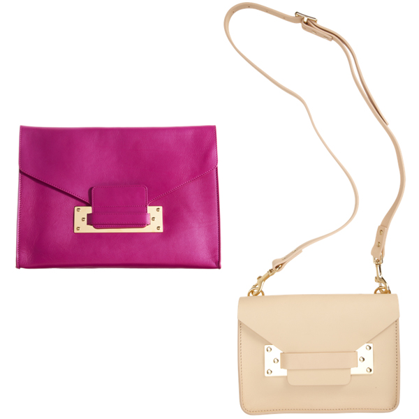Sophie Hulme Clutch and Shoulder Bag