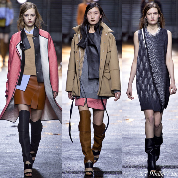 3.1 Phillip Lim Fall/Winter 2013 Runway Looks