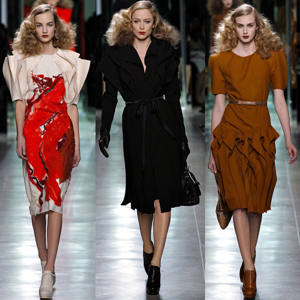 Bottega Veneta Fall/Winter 2013 Runway Looks