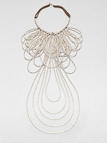 Brunello Cucinelli Ivory Knot Necklace