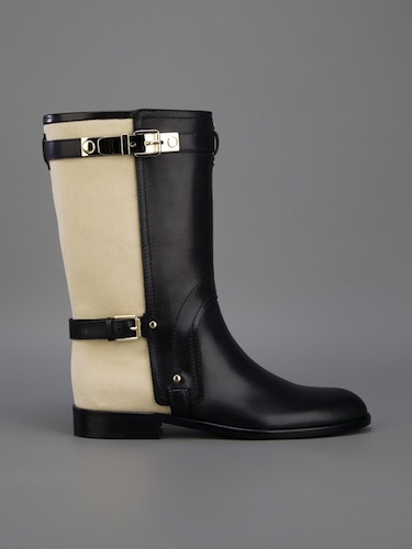 Dior Voltige Buckle Boot