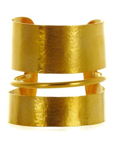 Hervé Van der Straeten Gold-Plated Cuff