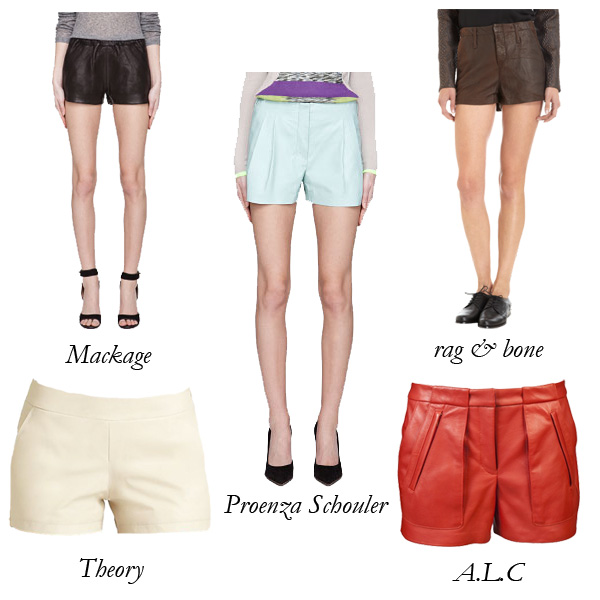 Top 5 Leather Shorts