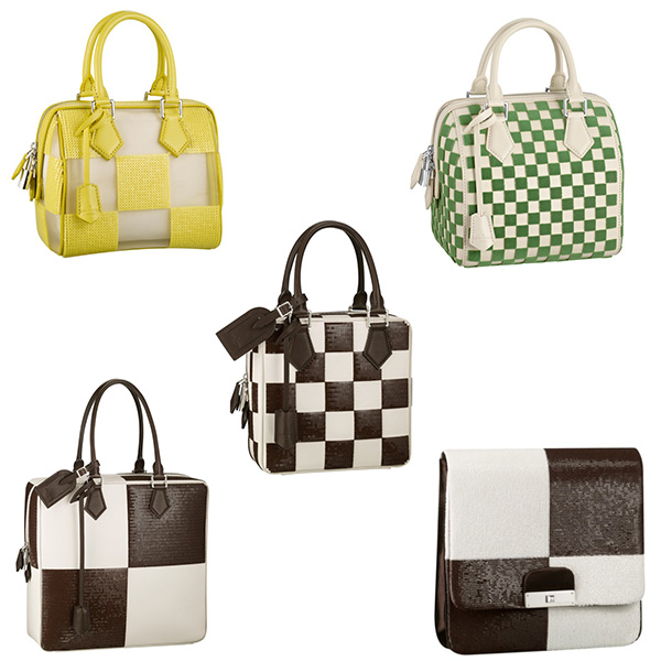 Louis Vuitton Spring/Summer 2013 Check-Pattern Bags