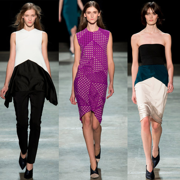 Narciso Rodriguez Runway Looks and Bags for Fall/Winter 2013