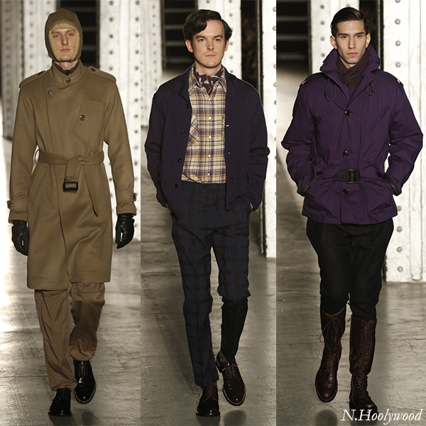 N.Hoolywood Fall/Winter 2013 Men's Looks