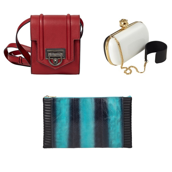 Reece Hudson Camera Bag and Clutches