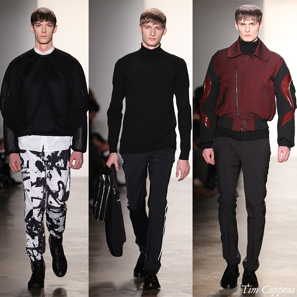 Tim Coppens Fall/Winter 2013 Men's Looks