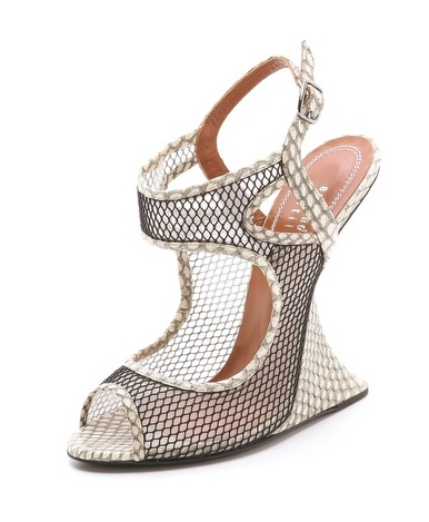 Edmundo Castillo Chica Queen Wedge Sandals