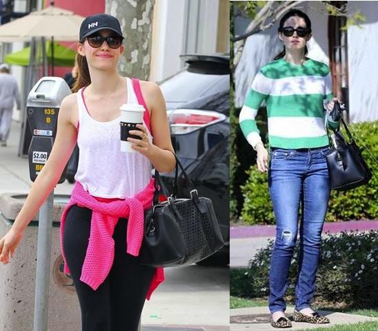 Emmy Rossum x Gerard Darel Plum Bag Riviera