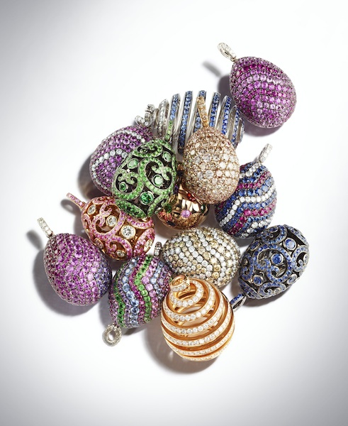 Fabrege Egg Pendants