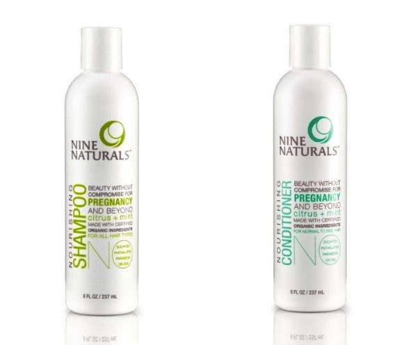 Nine Naturals Citrus + Mint Shampoo & Conditioner