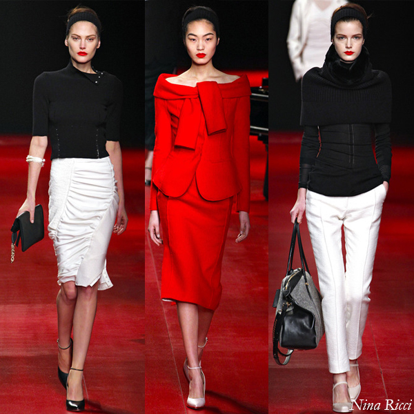 Nina Ricci Fall/Winter 2013 Runway Show Looks