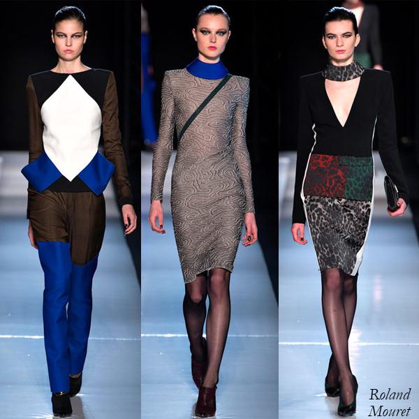 Roland Mouret Fall/Winter 2013 Runway Looks