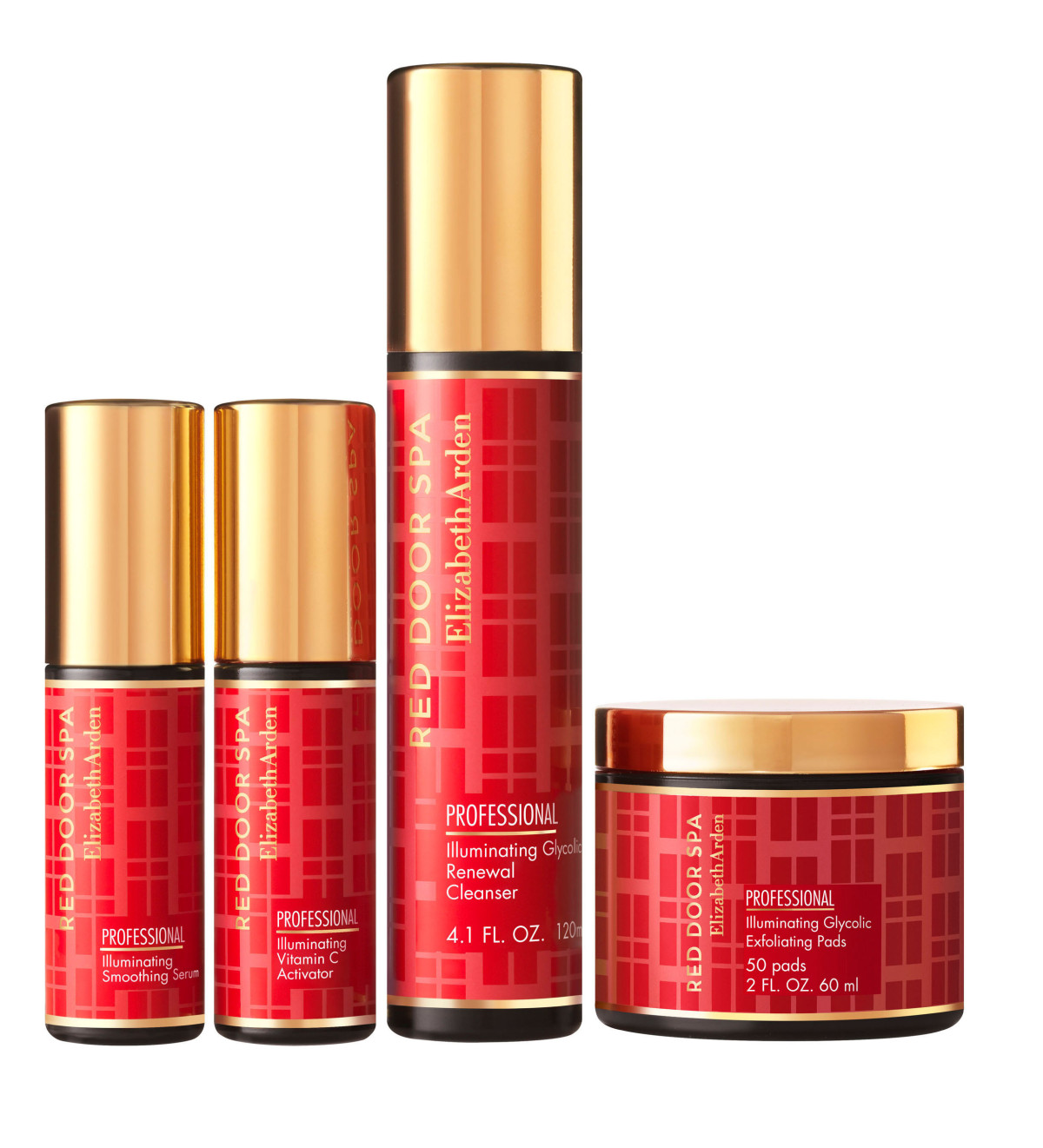 elizabeth arden red door spa first skincare line