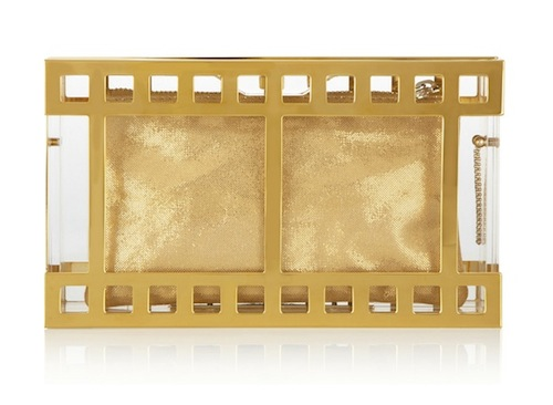 Charlotte Olympia Box Office Pandora Perspex Clutch