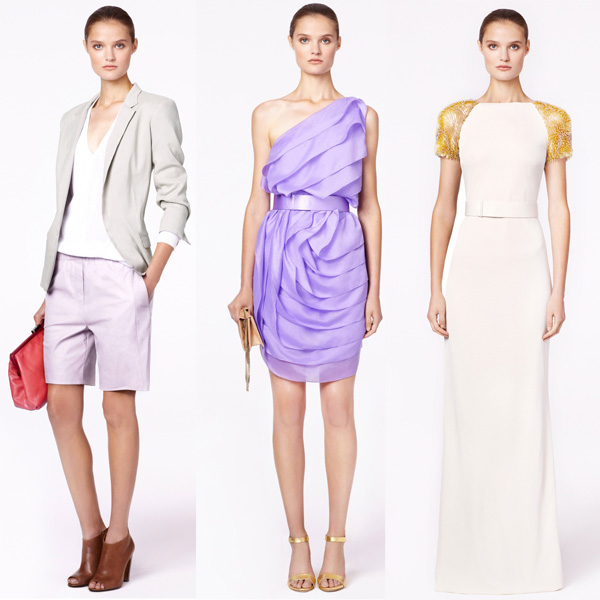 Halston Heritage Spring 2013 Collection