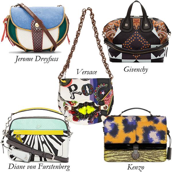 Jerome Dreyfuss, Givenchy, Versace, Diane von Furstenberg, Kenzo Bags Gone Too Far