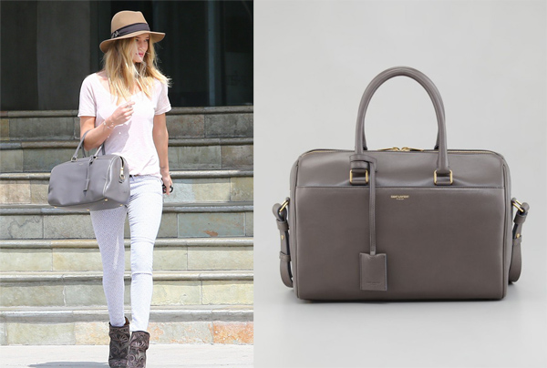Rosie_Huntington_Whiteley _Saint_Laurent_Small_duffel