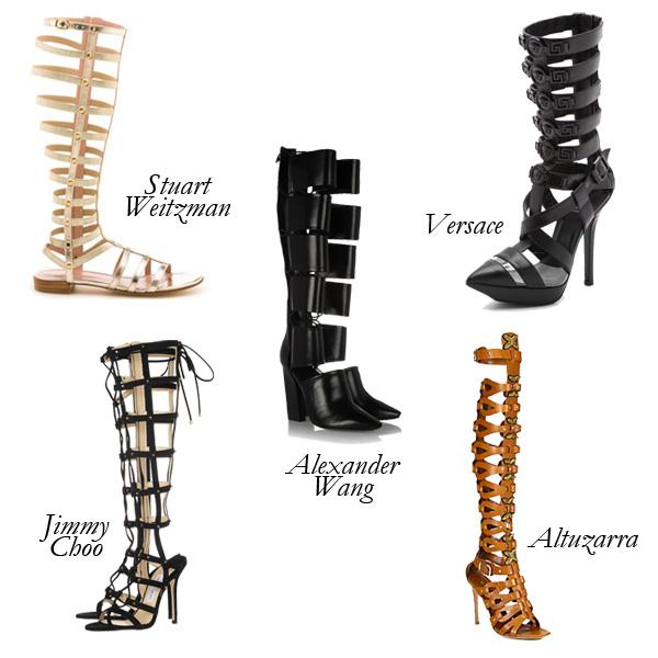 Top 5 Knee-High Gladiators