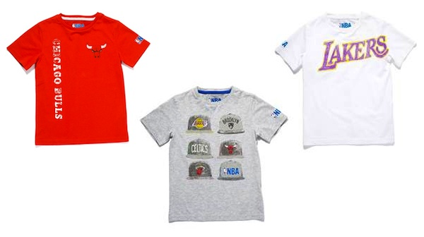 Zara x NBA Boys T-Shirts